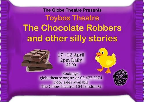 TOYBOX THEATRE: The Chocolate Robbers and Other Silly Stories